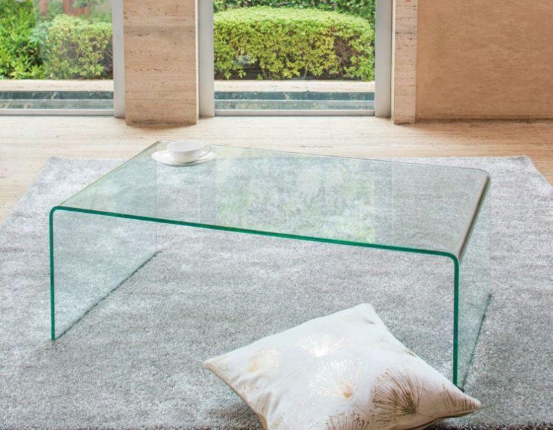 暑さ忘れる涼しげな「ガラステーブル」が15%OFF