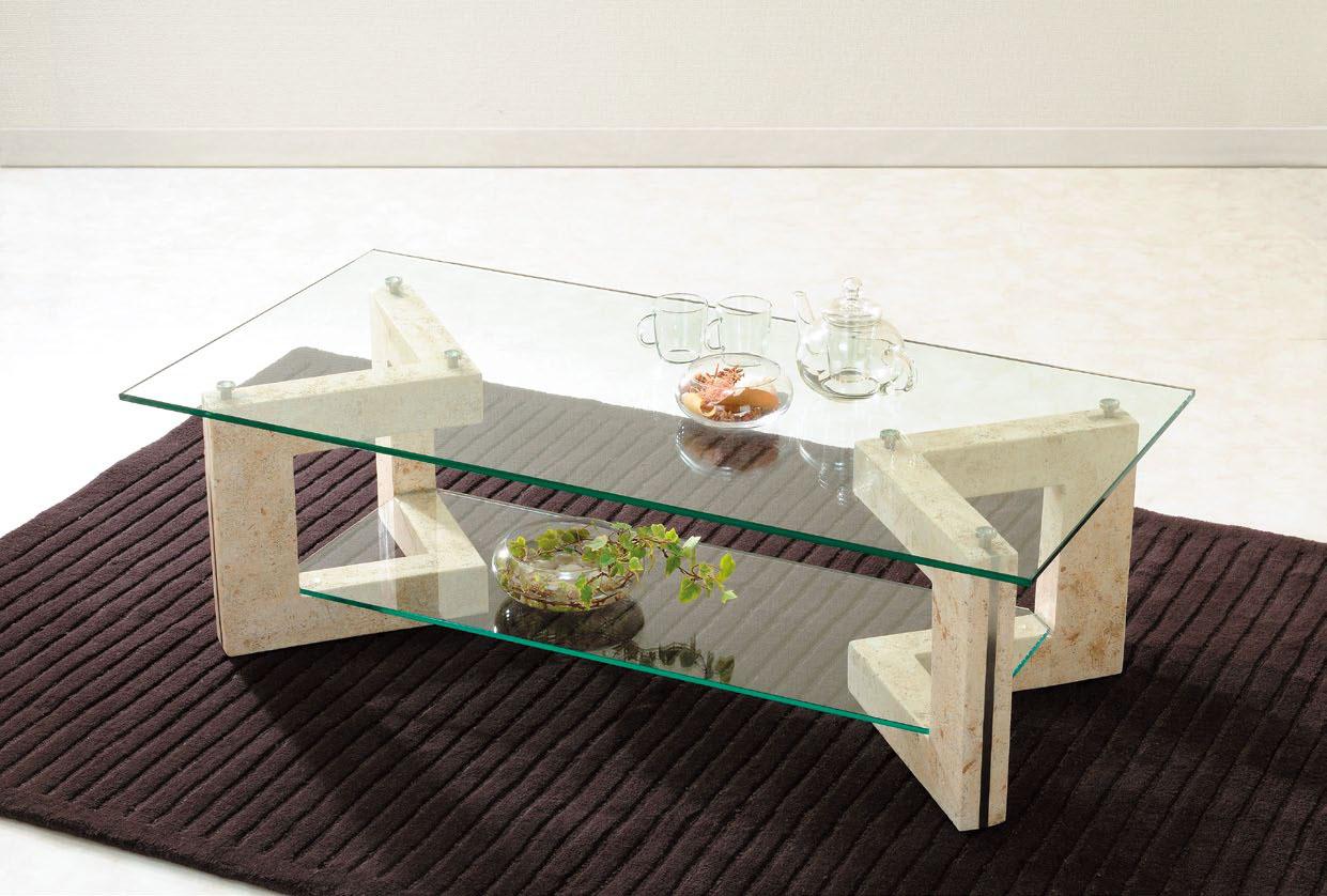 暑い夏はガラステーブル!