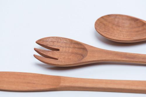 カトラリー,木製カトラリー,国産材,日本の木,moco