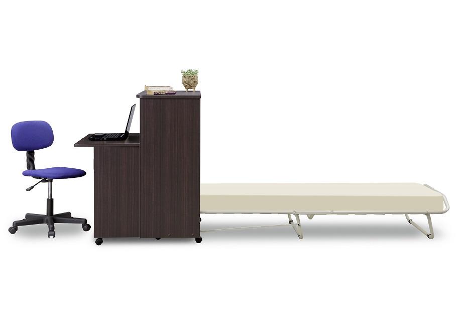 プチデスクベッド,多機能ベッド,収納ベッド,デスクベッド,折畳みベッド