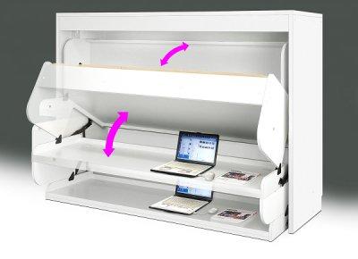 画像2: デスクベッド 九州限定、1台限りの限定価格のさらに50%OFF アウトレット品