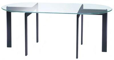 画像1: 【アルテジャパン】ガラステーブル T Form System Table【送料無料】