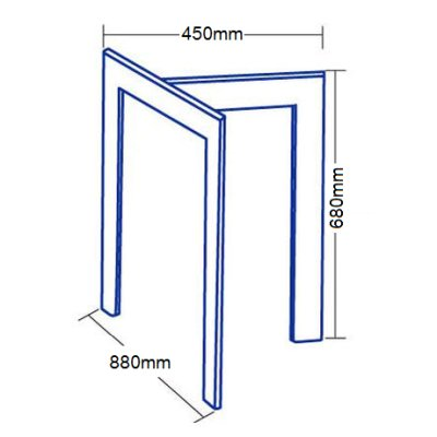 画像2: 【アルテジャパン】ガラステーブル T Form System Table【送料無料】