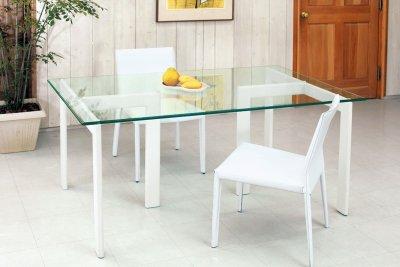 画像1: 【アルテジャパン】ガラステーブル Modern System Table【送料無料】