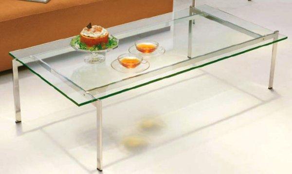 画像1: 【アルテジャパン】ガラステーブル Square Frame 【送料無料】 (1)