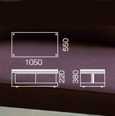 画像3: 【アルテジャパン】ガラステーブルMactan table MS(MSW)-10【送料無料】