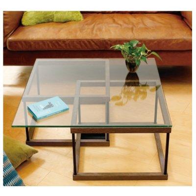 画像1: 【アルテジャパン】ガラステーブル Living table【送料無料】