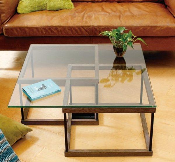 画像1: 【アルテジャパン】ガラステーブル Living table【送料無料】 (1)