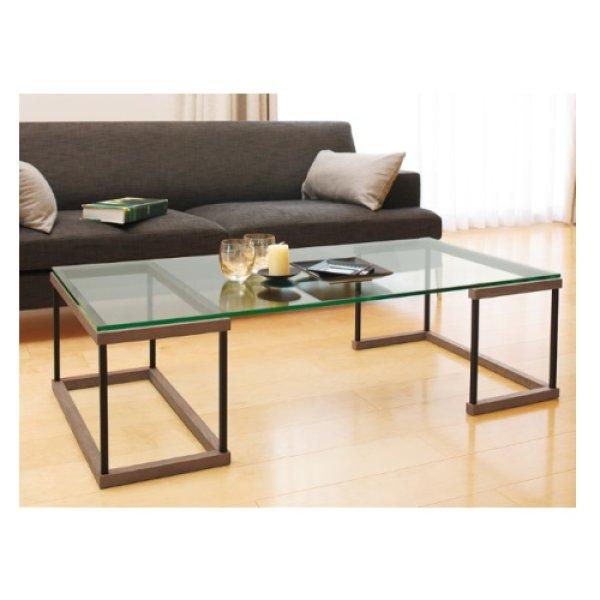画像1: 【アルテジャパン】ガラステーブル Living table 【送料無料】 (1)
