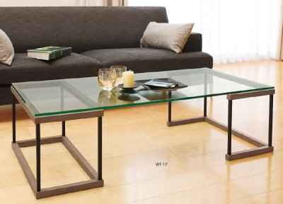 画像1: 【アルテジャパン】ガラステーブル Living table 【送料無料】