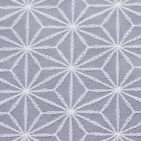 絹ガラス:麻の葉紋様(あさのはもんよう)