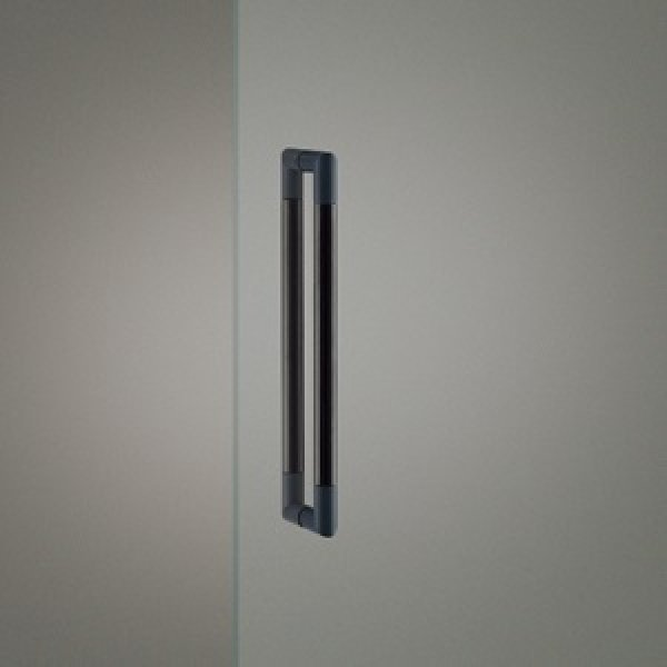 ユニウッド ブラック +ステンレス ヘアラインユニミストマットブラックハンドル G2750-21-791-L452