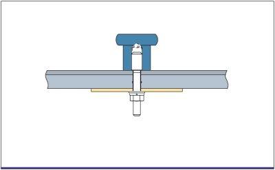 画像1: UT-A27用サポートプレート(1ヶ)/サイズ:90×90×2.3mm