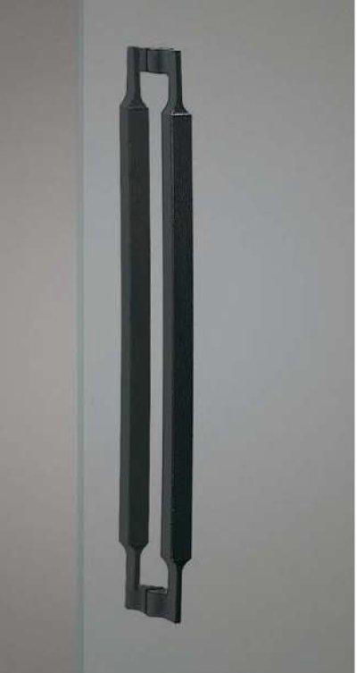 画像1: 南部鉄 チャコールハンドル(両側タイプ)/全長:600mm