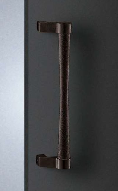 画像1: 南部鉄 鉄サビハンドル(両側タイプ)/全長:455mm