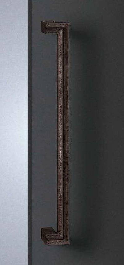 画像1: 南部鉄 鉄サビハンドル(両側タイプ)/全長:600mm