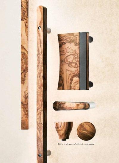 画像2: オリーヴ クリアペイント +ステンレス ミラーハンドル(両側タイプ)/全長:500mm