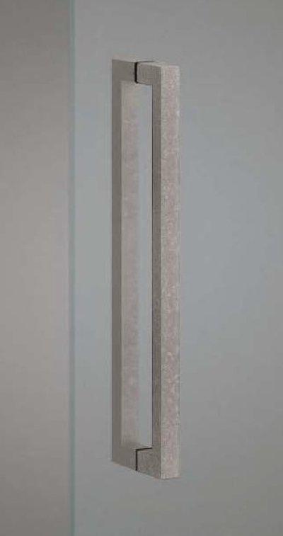 画像1: ユニキャスト ブラストシルバーハンドル(両側タイプ)/全長:500mm