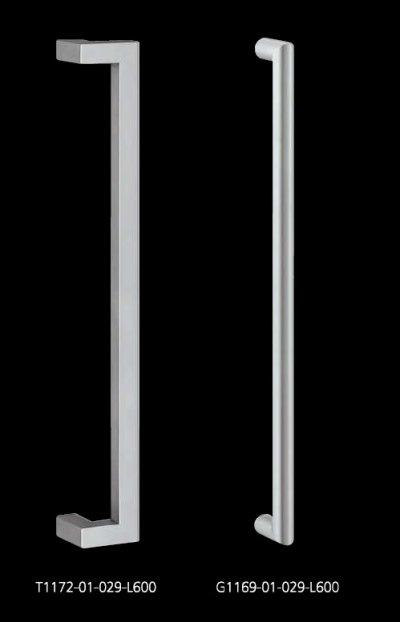 画像2: ステンレス BEPハンドル(両側タイプ)/全長:600mm
