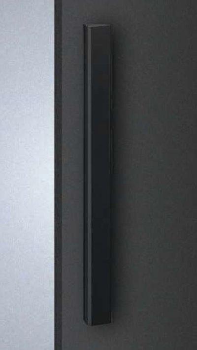 画像1: アルミ ユニフロストブラックハンドル(両側タイプ)/全長:500mm