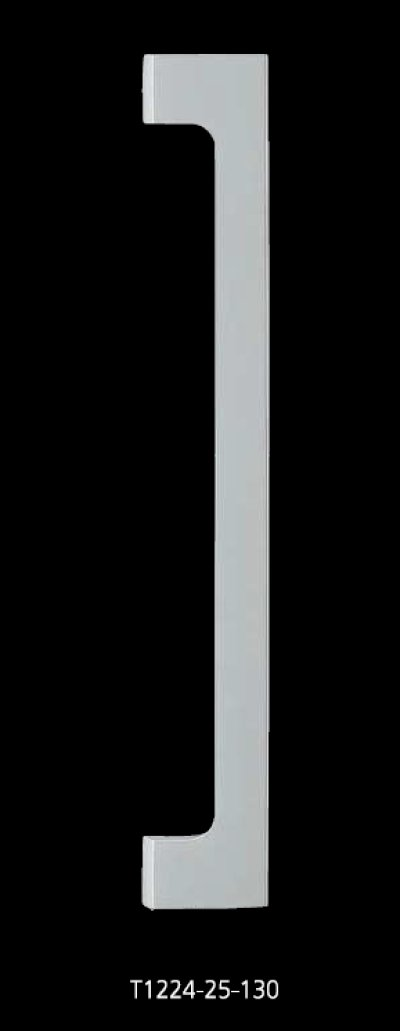 画像1: ユニキャスト ユニフロストシルバーハンドル(両側タイプ)/全長:600mm
