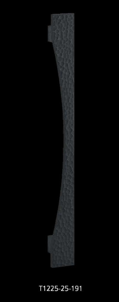 画像1: ユニキャスト ハンマートーンブラックハンドル(両側タイプ)/全長:600mm