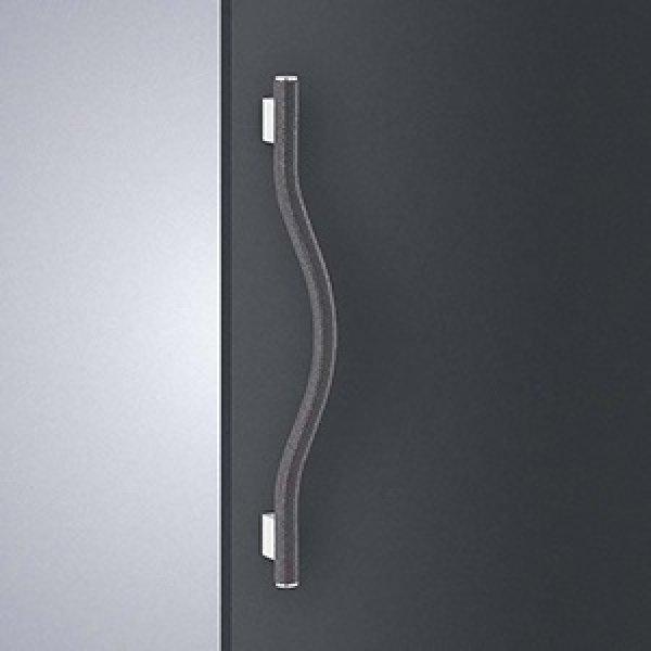 ブレイドレザー ブラック +ステンレス ミラーハンドル T1237-01-991