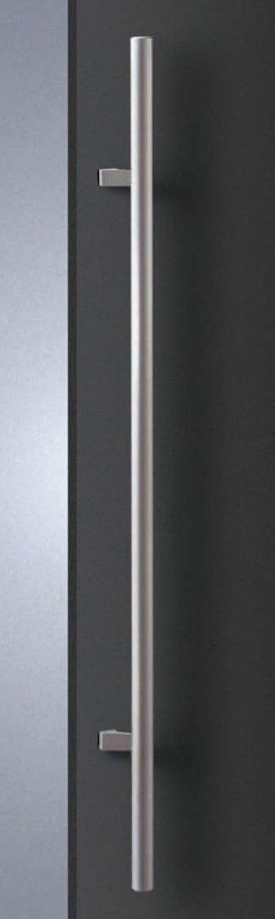 画像1: ステンレス ヘアラインハンドル(両側タイプ)/全長:1200mm