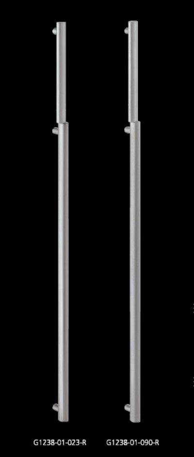 画像1: ステンレス ストーンブラストハンドル(両側タイプ)/全長:1200mm