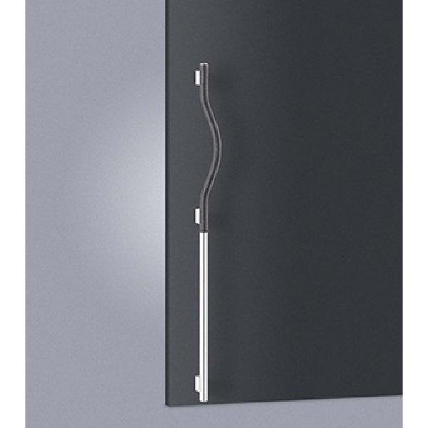 ブレイドレザー ブラック +ステンレス ミラーハンドル T1247-01-991-L/R