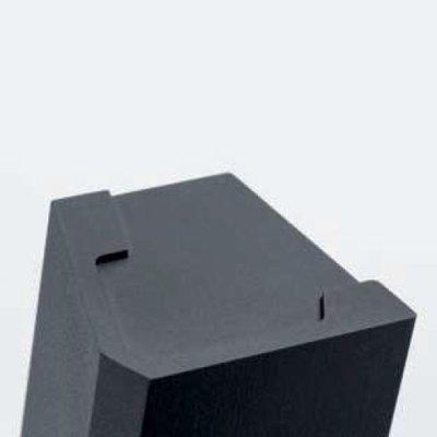 画像2: アルミ ユニフロストブラックハンドル(両側タイプ)/全長:500mm