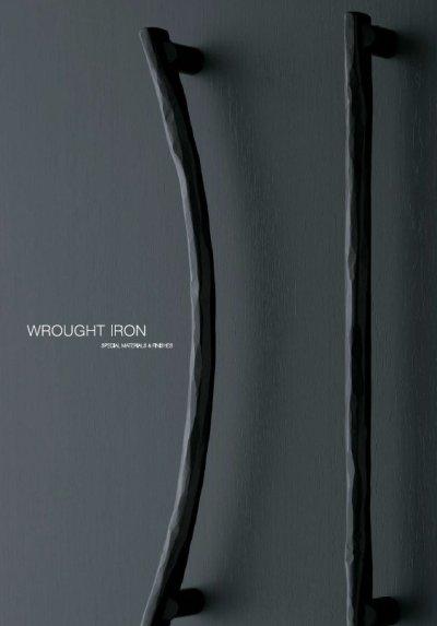画像2: ロートアイアン レジストブラックハンドル(両側タイプ)/全長:457mm