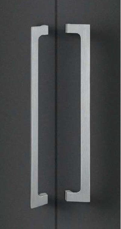 画像1: ユニキャスト ヘアラインシルバー +ユニフロストシルバーハンドル(両側タイプ)/全長:500mm