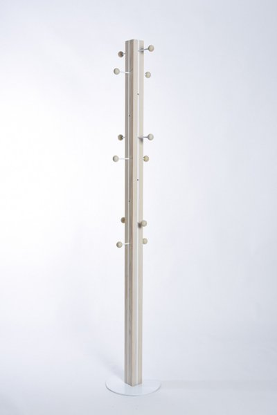 画像1: 日本の木:コートハンガー《日本製》 (1)