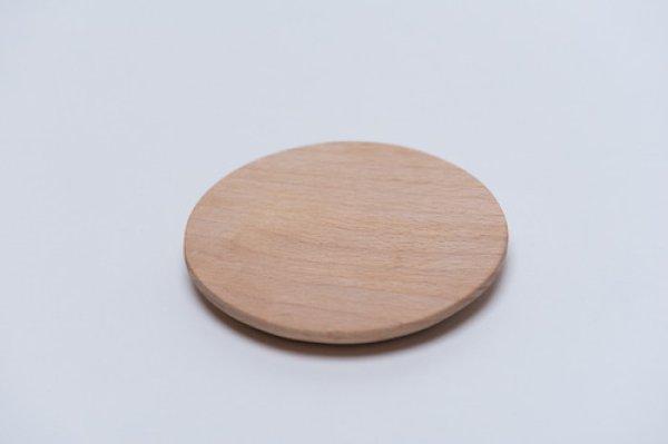 画像1: 日本の木:コースター(丸)《日本製》【送料無料】 (1)