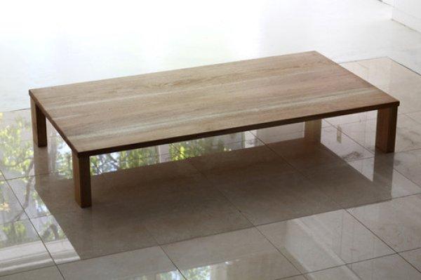 画像1: 日本の木:ローテーブル150 《日本製》【送料無料】 (1)