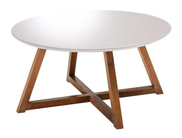 リビングテーブル PURETE-ピュルテ-PRT-800 WT