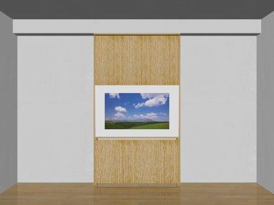 画像3: 省スペース薄型テレビボード SLIMO