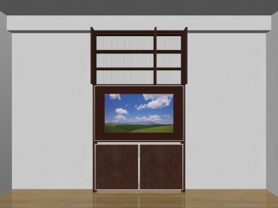 画像2: 省スペース薄型テレビボード SLIMO