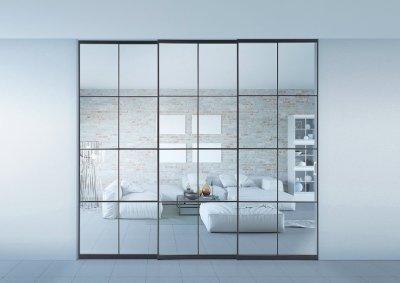 画像1: アルミ枠ガラス引戸「住楽(ジュラ)」