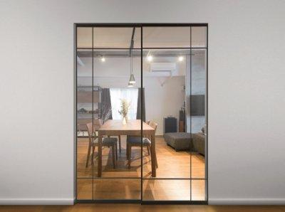 画像3: アルミ枠ガラス引戸「住楽(ジュラ)」