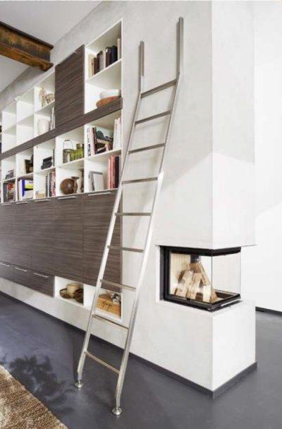 画像2: レールレス梯子