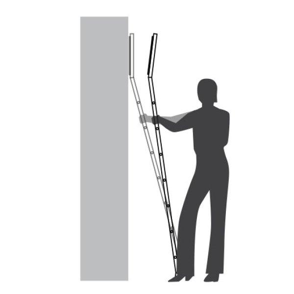 レールレス梯子