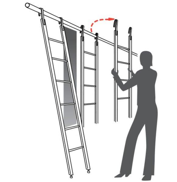 フック梯子