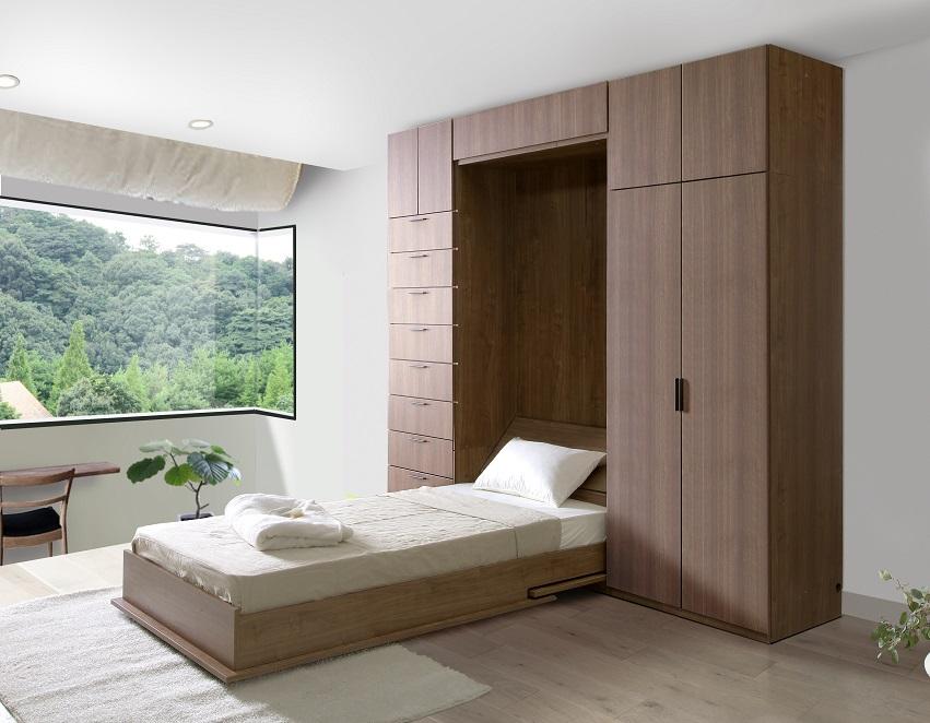 ベッド,格納ベッド,収納式ベッド,多機能ベッド,システムベッド