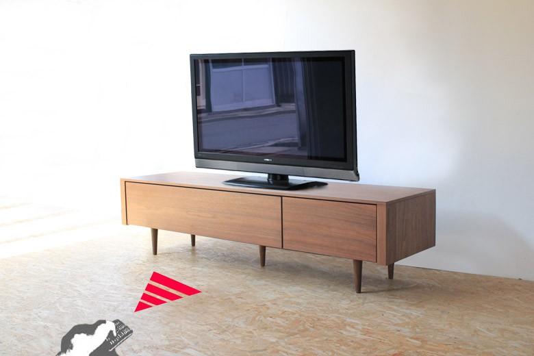 テレビボード,テレビ台,TV board,TVボード,AVボード,ウォールナット材,オーク材