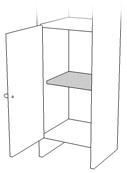 サンプル,壁面収納家具,システム収納家具,リビング壁面収納家具