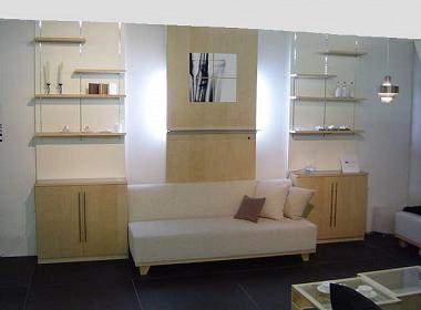 壁面収納家具,リビングボード,キャビネット,システム壁面収納家具,オーダー壁面収納家具,別注オーダー家具,フリーボード,シンプル,メイプル材