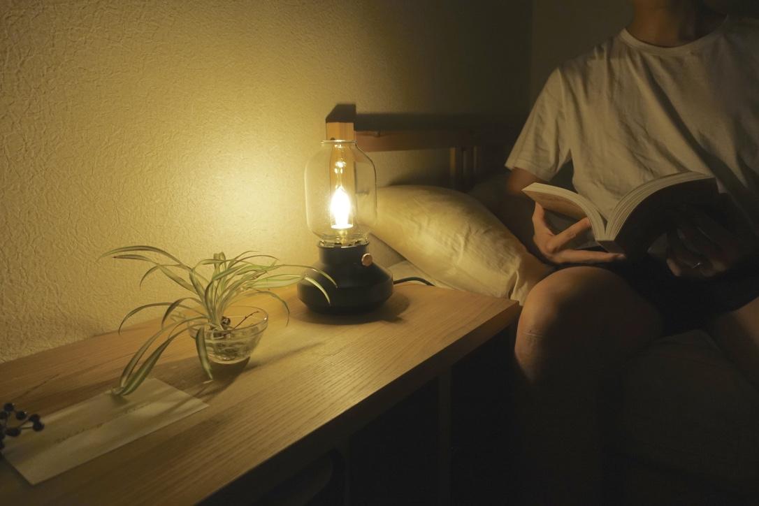 LED電球に変えて、秋の夜長を快適に