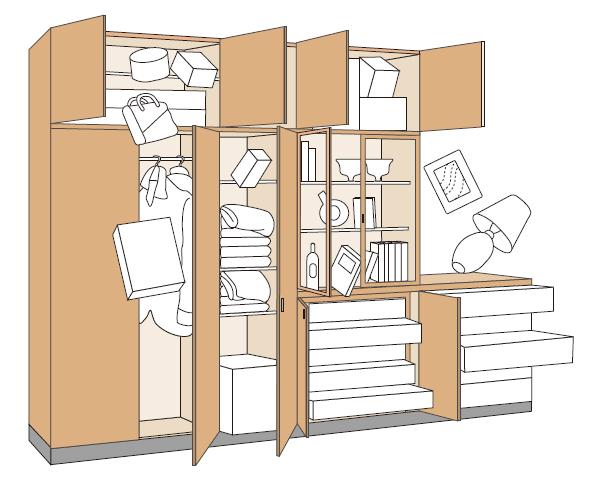 地震対策におススメです。家具用「耐震ラッチ」